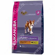 Eukanuba Puppy&Junior Medium Breed (Курица), 15 кг