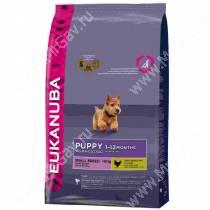 Eukanuba Puppy&Junior Small Breed (Курица), 3 кг