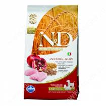 Farmina N&D Low Grain Chicken&Pomegranate Dog Light Medium&Mini