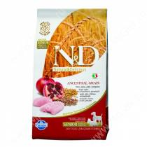 Farmina N&D Low Grain Chicken&Pomegranate Dog Senior Medium&Mini