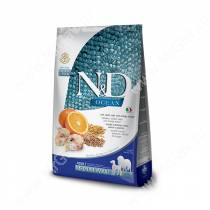 Farmina N&D Ocean Codfish, Spelt, Oats&Orange Adult Dog Medium&Maxi