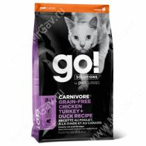 GO! Carnivore Grain Free Cat Chicken, Turkey, Duck, Salmon