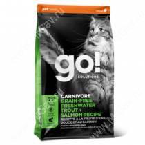 GO! Carnivore Grain Free Cat Trout & Salmon Recipe