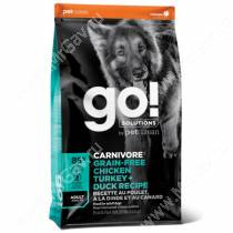 GO! Carnivore Grain Free Dog Adult Chicken, Turkey, Duck, Salmon Recipe