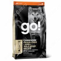 GO! Carnivore Grain Free Dog Lamb & Wild Boar Recipe, 5,44 кг