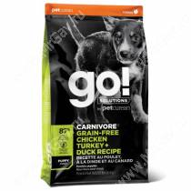 GO! Carnivore Grain Free Dog Puppy Chicken, Turkey, Duck, Salmon Recipe