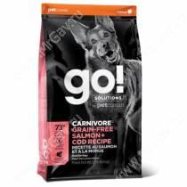 GO! Carnivore Grain Free Dog Salmon & Cod Recipe, 1,59 кг