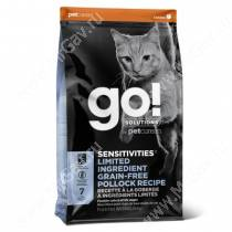 GO! Sensitivity + Shine Grain Free Pollock Cat Recipe