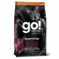 GO! Sensitivity + Shine LID Lamb Dog Recipe Grain Free, Potato Free, 1,59 кг