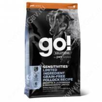GO! Sensitivity + Shine LID Pollock Dog Recipe Grain Free, Potato Free, 5,44 кг