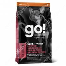 GO! Sensitivity + Shine Salmon Dog Recipe Grain Free, Potato Free, 5,44 кг