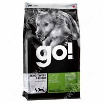 GO! Sensitivity + Shine Turkey Dog Recipe Grain Free, Potato Free, 2,72 кг