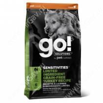 GO! Sensitivity + Shine Turkey Dog Recipe Grain Free, Potato Free, 9,98 кг