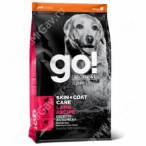 GO! Skin Coat Care Dog Lamb Recipe, 11,34 кг