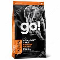 GO! Skin Coat Care Dog Salmon Recipe, 5,44 кг