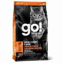 GO! Skin Coat Grain Free Cat Salmon Recipe
