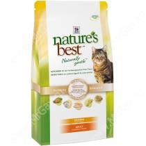 Hill's Nature's Best натуральный сухой корм для кошек с курицей
