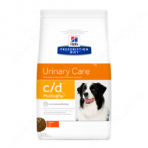 Hill's Prescription Diet c/d Multicare Urinary Care сухой корм для собак с курицей, 12 кг