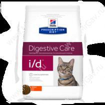Hill's Prescription Diet i/d Digestive Care сухой корм для кошек с курицей, 5 кг
