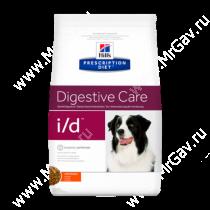 Hill's Prescription Diet i/d Digestive Care сухой корм для собак с курицей