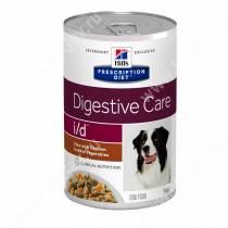 Hill's Prescription Diet i/d Рагу с курицей и добавлением овощей для собак, 354 г