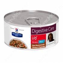 Hill's Prescription Diet i/d Stress Mini Рагу с курицей и добавлением овощей для собак, 156 г