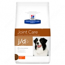 Hill's Prescription Diet j/d Joint Care сухой корм для собак с курицей, 12 кг