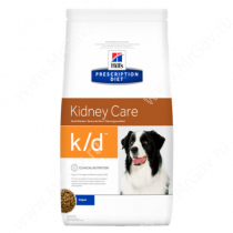 Hill's Prescription Diet k/d Kidney Care сухой корм для собак