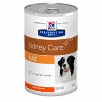 Hill's Prescription Diet k/d Kidney Care влажный корм для собак, 370 г