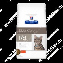 Hill's Prescription Diet l/d Liver Care сухой корм для кошек с курицей