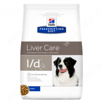 Hill's Prescription Diet l/d Liver Care сухой корм для собак