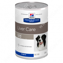 Hill's Prescription Diet l/d Liver Care влажный корм для собак, 370 г
