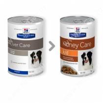 Hill's Prescription Diet l/d Liver Care влажный корм для собак, 370 г