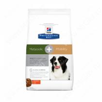 Hill's Prescription Diet Metabolic & Mobility Weight & Joint Care сухой корм для собак с курицей