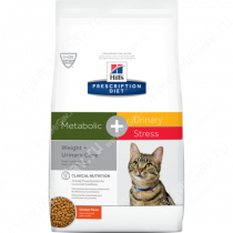 Hill's Prescription Diet Metabolic & Urinary, Weight & Urinary Care сухой корм для кошек с курицей