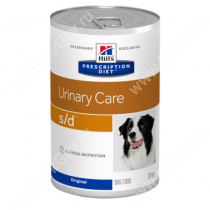 Hill's Prescription Diet s/d Urinary Care влажный корм для собак, 370 г