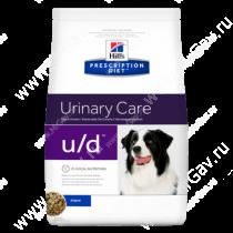 Hill's Prescription Diet u/d Urinary Care сухой корм для собак
