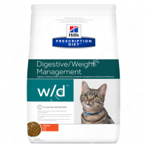 Hill's Prescription Diet w/d Digestive/Weight Management сухой корм для кошек с курицей