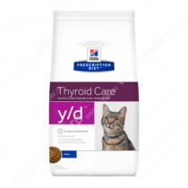 Hill's Prescription Diet y/d Thyroid Care сухой корм для кошек
