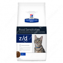 Hill's Prescription Diet z/d Food Sensitivities сухой корм для кошек