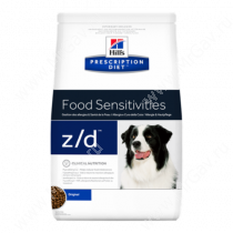 Hill's Prescription Diet z/d Food Sensitivities сухой корм для собак