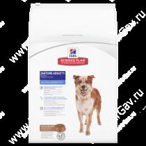 Hill's Science Plan Active Longevity сухой корм для собак мелких и средних пород старше 7 лет с ягненком и рисом