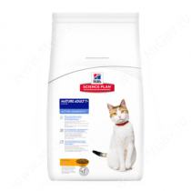 Hill's Science Plan Active Longevity сухой корм для кошек старше 7 лет курица, 2 кг