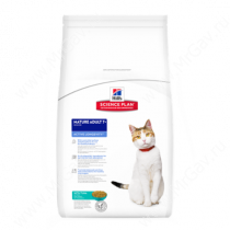 Hill's Science Plan Active Longevity сухой корм для кошек старше 7 лет с тунцом, 2 кг