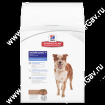 Hill's Science Plan Active Longevity сухой корм для собак мелких и средних пород старше 7 лет с ягненком и рисом, 12 кг