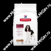 Hill's Science Plan Advanced Fitness сухой корм для собак средних пород ягненок с рисом, 7,5 кг