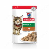 Hill's Science Plan Healthy Development влажный корм для котят с индейкой, 85 г