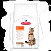 Hill's Science Plan Optimal Care сухой корм для кошек с ягненком, 2 кг