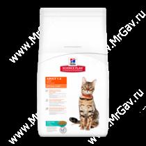 Hill's Science Plan Optimal Care сухой корм для кошек с тунцом, 2 кг