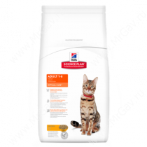 Hill's Science Plan Optimal Care сухой корм для кошек курица